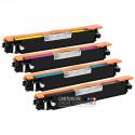 Compatible HP CE310A-CE311A-CE312A-CE313A - 126A Pack