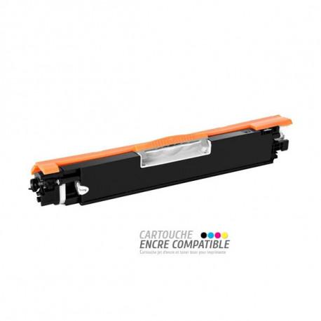 Toner Laser Compatible HP CE310A - 126A Noir