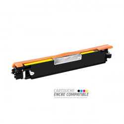 Compatible con HP CE312A - 126A Amarillo