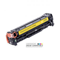 Compatible con HP CC532A - 304A Amarillo