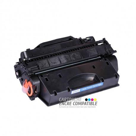 Toner Laser Compatible HP CE505X - 05X Noir
