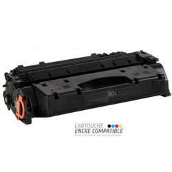 Toner Laser Compatible HP CF280X - 80X Noir