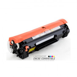 Toner Laser Compatible HP CF283A - 83A Noir
