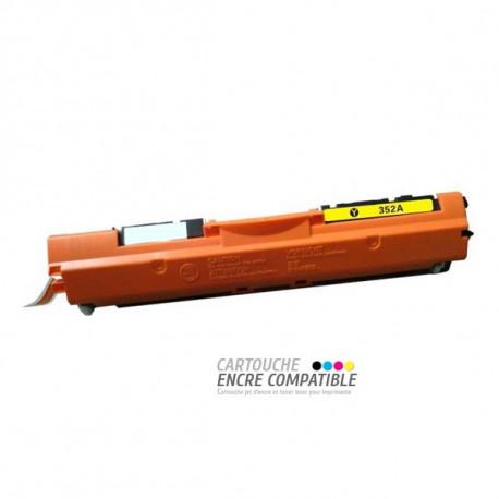Toner Laser Compatible HP CF352A - 130A Jaune