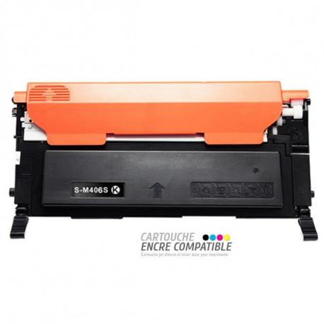 Toner Laser Compatible Samsung CLT-K406S Noir