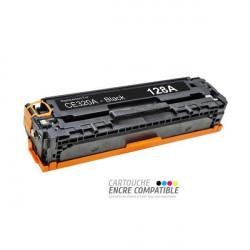 Toner Laser Compatible HP CE320A - 128A Noir