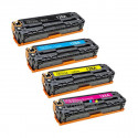 Compatible HP CE320A-CE321A-CE322A-CE323A - 128A Pack