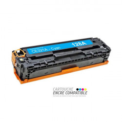 Compatible HP CE321A - 128A Cyan