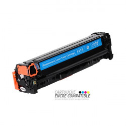 Compatible HP CE411A - 305A Cyan
