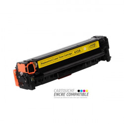 Compatible con HP CE412A - 305A Amarillo