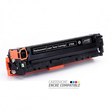 Toner Laser Compatible HP CF210A - 131A Noir