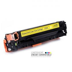 Toner Laser Compatible HP CF212A - 131A Jaune