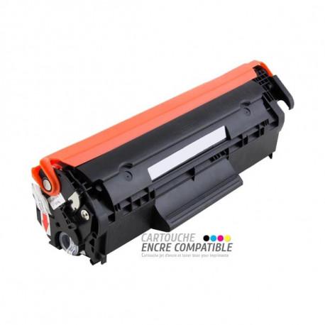 Toner Laser Compatible HP Q2612A - 12A Noir