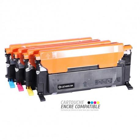 Pack de 4 Toners Laser Compatibles Samsung CLT-K4092S