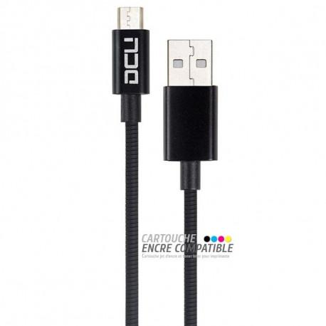 Câble USB Universel DCU Blanc 1,5M