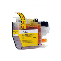 Compatible Brother LC3219XL Amarillo