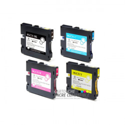Compatible RICOH GC31 Pack
