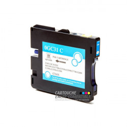 Compatible RICOH GC31 Cyan
