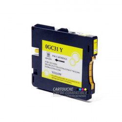 Compatible RICOH GC31 Jaune
