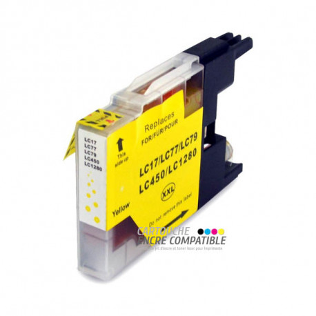 Compatible Brother LC1280XL Jaune