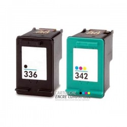 Compatible HP 336-342XL PACK