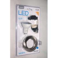 Spot encastrable LED GU10 4200K Spot light Holder - 7w