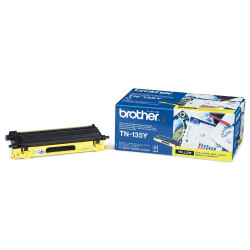 Toner laser d'origine de marque Brother TN-135 Jaune