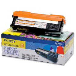 Toner laser d'origine de marque Brother TN-325 Jaune