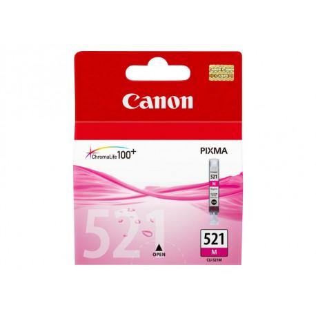 Cartouche d'encre originale Canon CLI521 Magenta