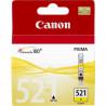 Cartouche d'encre originale Canon CLI521 Jaune