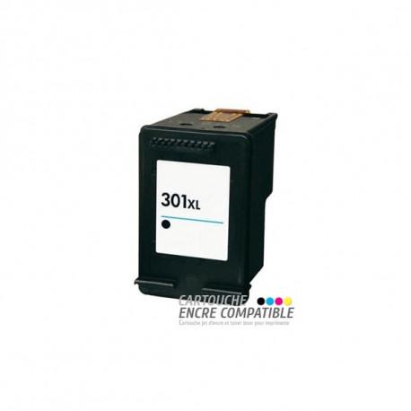Cartouche D'encre Remanufacturée HP 301XL Noir