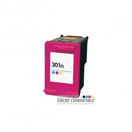 Cartouche D'encre Remanufacturée HP 301XL Couleur