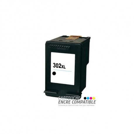 Cartouche D'encre Remanufacturée HP 302XL Noir