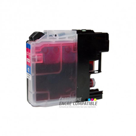 Compatible Brother LC123 Magenta