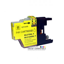 Compatible Brother LC1220-1240 Jaune Face