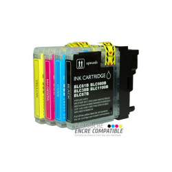 Compatible Brother LC980-1100 Pack
