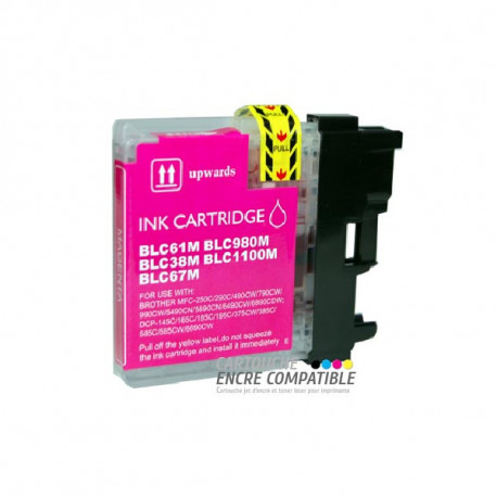 Compatible Brother LC980-1100 Magenta