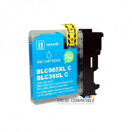 Cartouche D'encre Compatible Brother LC985 Cyan