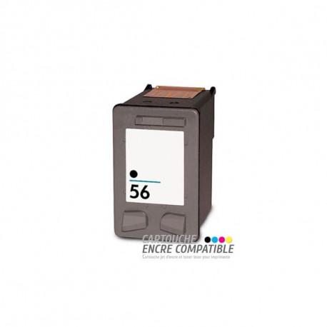 Cartouche D'encre Remanufacturée HP 56XL Noir