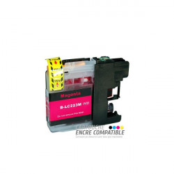 Compatible Brother LC223 Magenta