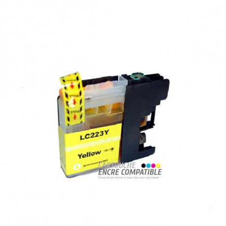Compatible Brother LC223 Jaune