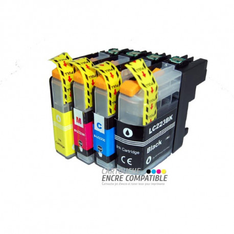 Compatible Brother LC223 Pack