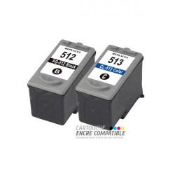 Cartouche D'encre Canon PG-512 CL-513XL Pack