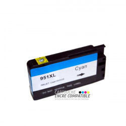 Compatible HP 951 XL Cyan