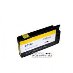 Compatible HP 951 XL Jaune