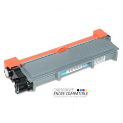 Toner Laser Compatible Brother TN2320 Noir