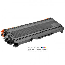 Toner Laser Compatible Brother TN2000-2005-2025 Noir