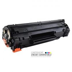 Toner Laser Compatible HP CB435A - 35A Noir