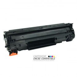 Toner Laser Compatible HP CB436 - 36A Noir