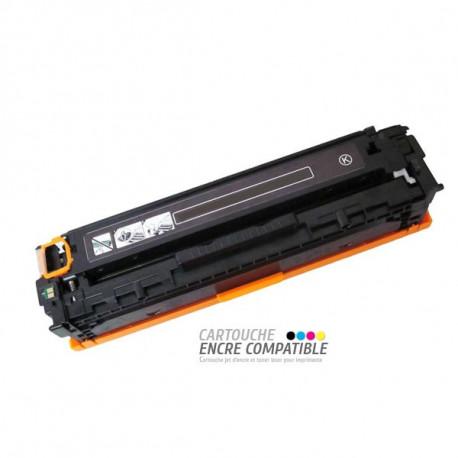 Toner Laser Compatible HP CB540A - 125A Noir